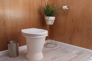 Stylish composting toilet